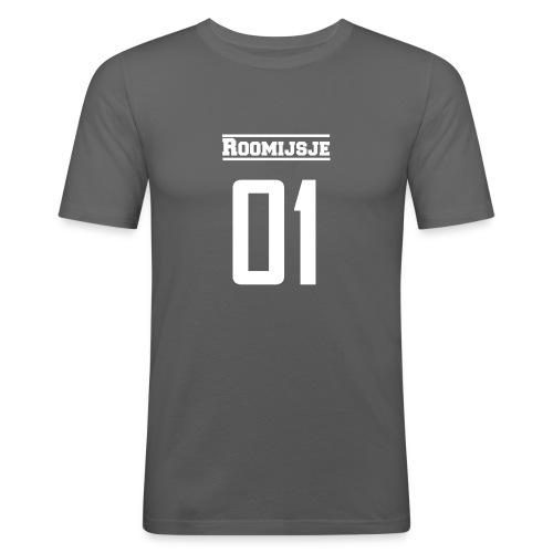 Roomijsje 01 woman/man sweater - Mannen slim fit T-shirt