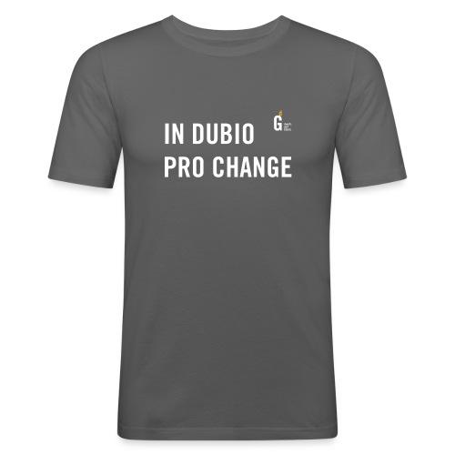 In dubio pro change I - Men's Slim Fit T-Shirt