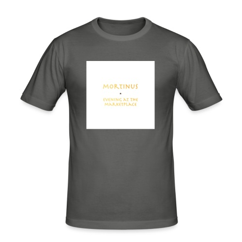 Mortinus - Evening at the Marketplace - Men's Slim Fit T-Shirt