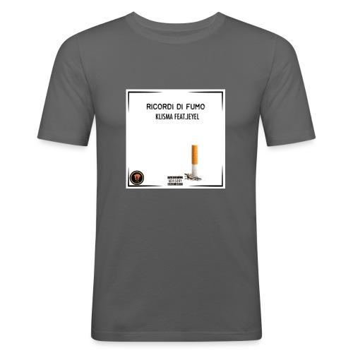 RICORDI DI FUMO - KLISMA FEAT. JEYEL BTZ MAGLIE - Maglietta aderente da uomo