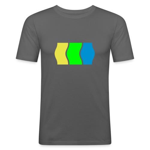 deux - Männer Slim Fit T-Shirt