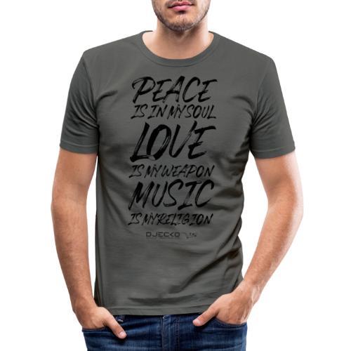 Djecko blk - T-shirt près du corps Homme