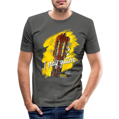 I play guitar - limited edition '19 - Männer Slim Fit T-Shirt