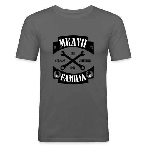 Mk2Familia one unit - Männer Slim Fit T-Shirt