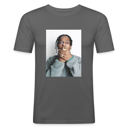 ASAP ROCKY x RAEVERSE - Mannen slim fit T-shirt