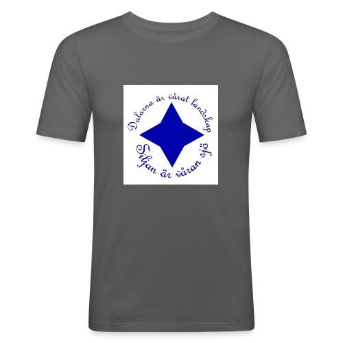 dalarnaSiljan - Slim Fit T-shirt herr