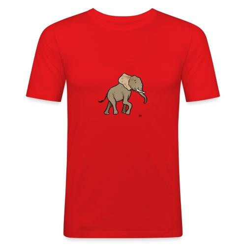 African elephant - Men's Slim Fit T-Shirt