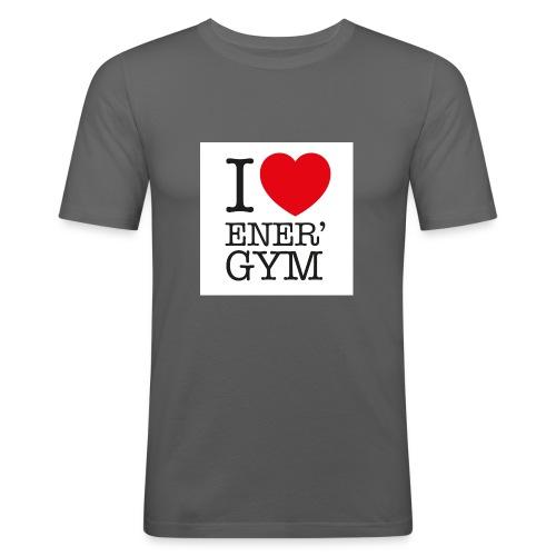 I love Ener'gym - T-shirt près du corps Homme
