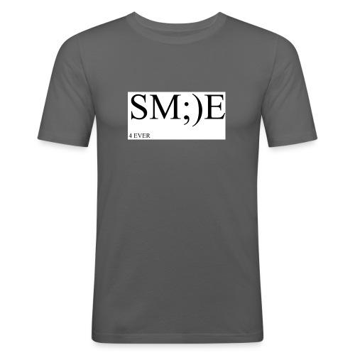 SM;)E 4 EVER - Men's Slim Fit T-Shirt