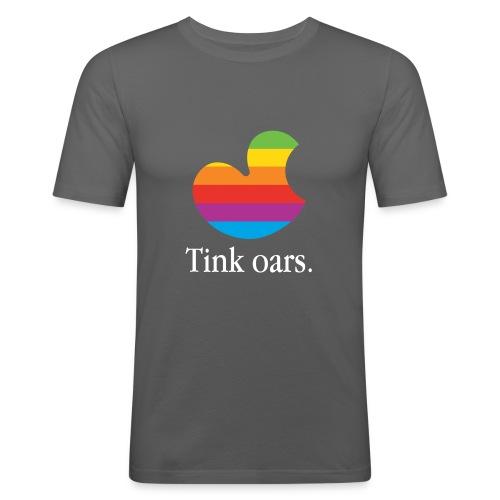 Tink oars - Mannen slim fit T-shirt