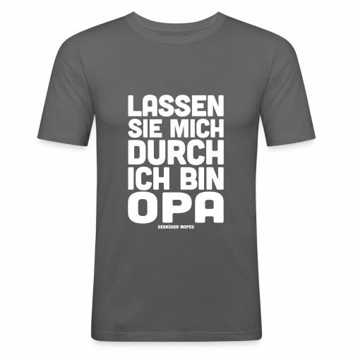 Opa - Männer Slim Fit T-Shirt