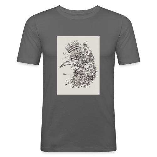 Nature de l'homme - T-shirt près du corps Homme
