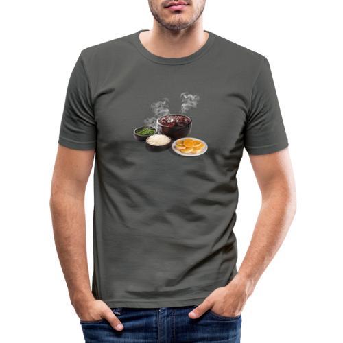 Feijoada - Men's Slim Fit T-Shirt