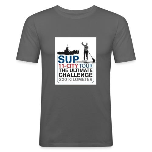 SUP11 City Tour Logo Shirt - Men's Slim Fit T-Shirt