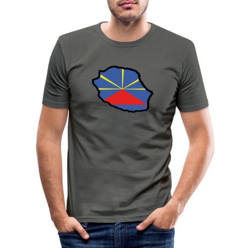 Drapeau Lo Mahaveli - T-shirt près du corps Homme