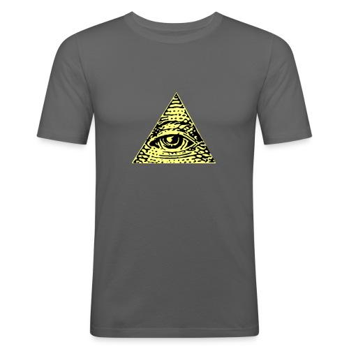 Illuminati - Slim Fit T-shirt herr