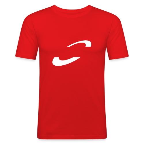 Planet Cycling Icon - Men's Slim Fit T-Shirt