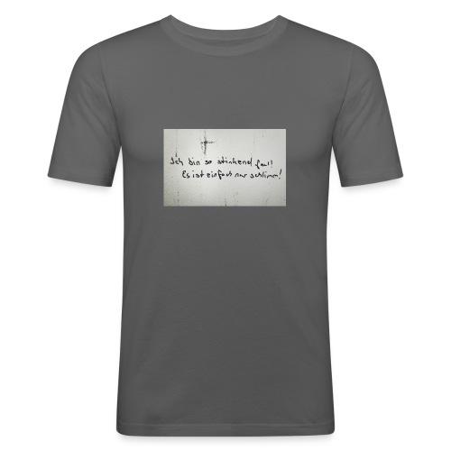 Faul - Männer Slim Fit T-Shirt