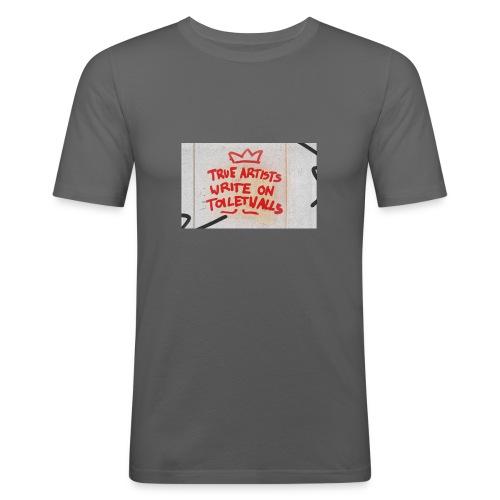 True Artists - Männer Slim Fit T-Shirt