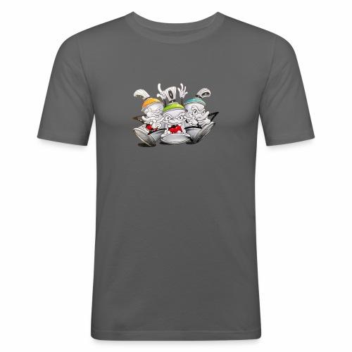 Dont ! Tim Timmey - Herre Slim Fit T-Shirt