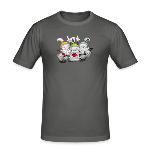 see no evil ! Tim Timmey - Herre Slim Fit T-Shirt