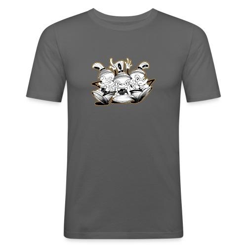 see no evil tim timmey ver01 - Herre Slim Fit T-Shirt
