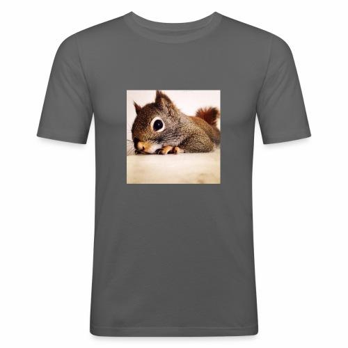 écureuil So Cute - T-shirt près du corps Homme