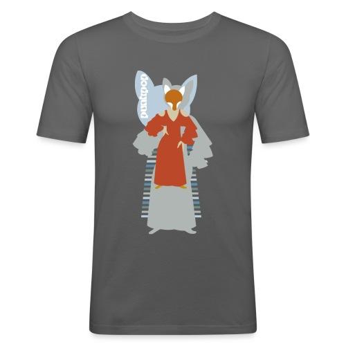 Progressive Fox PunkPop - Maglietta aderente da uomo