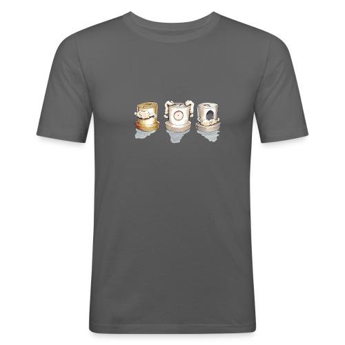 see no evil ver.0.3 Rasmus Balstrøm - Herre Slim Fit T-Shirt