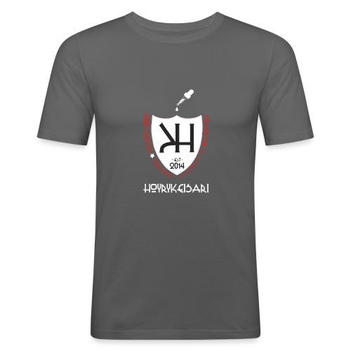 KUV - hk2015paita - Miesten tyköistuva t-paita