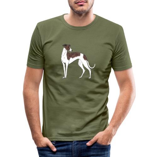 Greyhound - Männer Slim Fit T-Shirt
