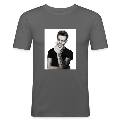 No Regerts - Men's Slim Fit T-Shirt
