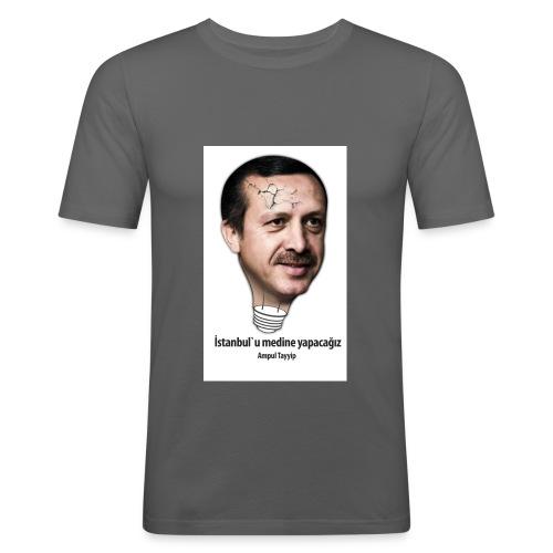 ampul tayyip3 - Männer Slim Fit T-Shirt
