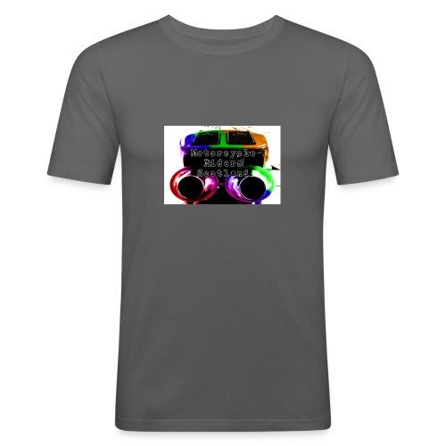 MCRS Twin Pipes - Men's Slim Fit T-Shirt