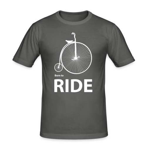 Born To Ride - Men's Slim Fit T-Shirt