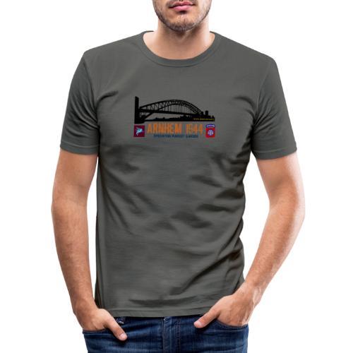 Opération Marché-Jardin: Arnhem - T-shirt près du corps Homme