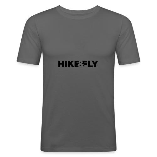 Hike & Fly Paragliding - Männer Slim Fit T-Shirt