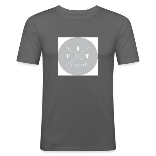 FIT living. - Slim Fit T-skjorte for menn