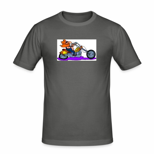 Bike 1 - Men's Slim Fit T-Shirt