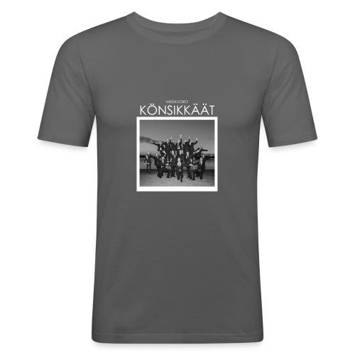 Könsikkäät - joulu saarella - Miesten tyköistuva t-paita