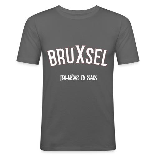 BRUXSEL - TMTC - White - T-shirt près du corps Homme