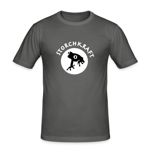 rettetfroschblank - Männer Slim Fit T-Shirt