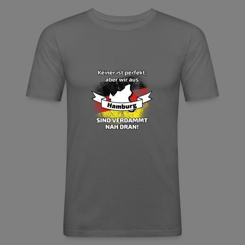 Perfekt Hamburg - Männer Slim Fit T-Shirt
