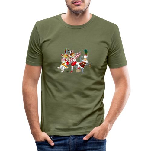 Köln Dreigestirn - Männer Slim Fit T-Shirt