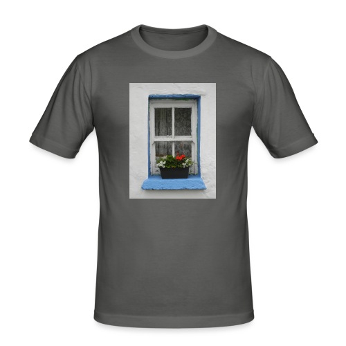 Cashed Cottage Window - Men's Slim Fit T-Shirt