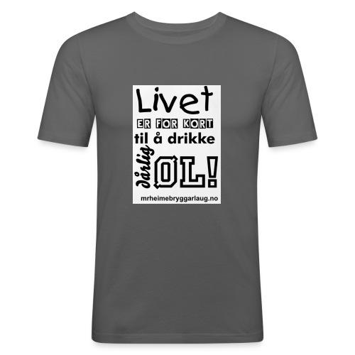 Møre&Romsdal Heimebryggarlaug t-shirt - Slim Fit T-skjorte for menn