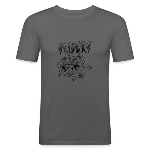 Spiders - Miesten tyköistuva t-paita