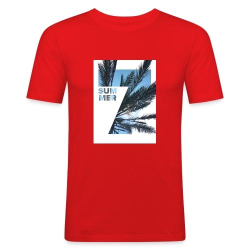 Summertime - Mannen slim fit T-shirt