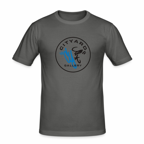cityard org logo - Herre Slim Fit T-Shirt