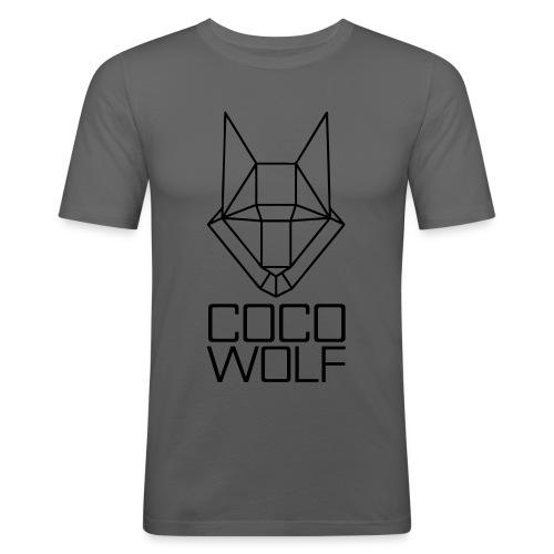 COCO WOLF - Männer Slim Fit T-Shirt